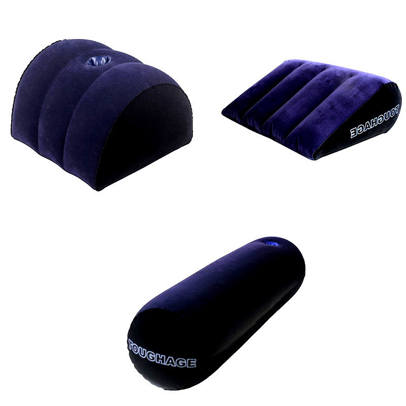 Inflatable <font><b>Sex</b></font> Aid Wedge Pillow Love Position Cushione <font><b>Sex</b></font> Furniture Erotic Wedge <font><b>Sex</b></font> Sofa <font><b>Adult</b></font> <font><b>Games</b></font> <font><b>Sex</b></font> <font><b>Toys</b></font> <font><b>For</b></font> <font><b>Couples</b></font> image