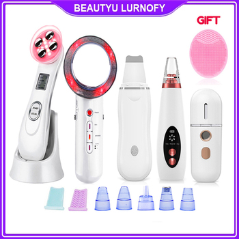 EMS RF Radio Frequency Blackhead Remover Skin Scrubber Face Cleaning Infrared Body Slimming Massager Lipo Facial Beauty Machine 1