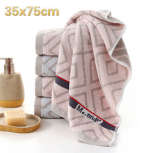 High Quality Cotton Parallel Square Lattice Washcloth Travel School Camping Portable Towel Sports Gym Yoga Bathroom Gift