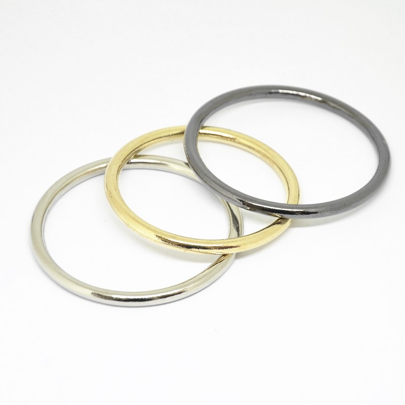 "5//8/"" Stainless Steel Silver O Rings Pack Of 25"