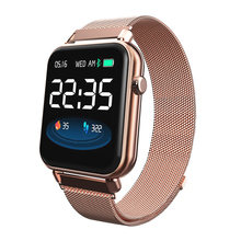 Y6 Pro Bluetooth Smart Watch Men Women Fashion Smartwatch HR Blood Pressure Heart Rate Music Weather Fitness Tracker smart band