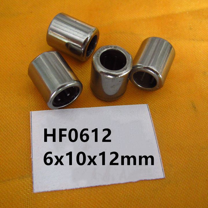 20 100pcs HF0612 One Way Cluth Needle Roller Bearing 6x10x12 mm Steel Needle Roller Bearing 6mm * 10mm * 12mm bearing direction bearing flangedbearing honda - title=