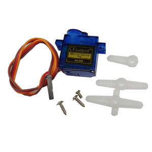 Image 5 - 100pcs/lot CFsunbird SG90 9g Mini Micro Servo for RC for RC 250 450 Helicopter Airplane Car Boat