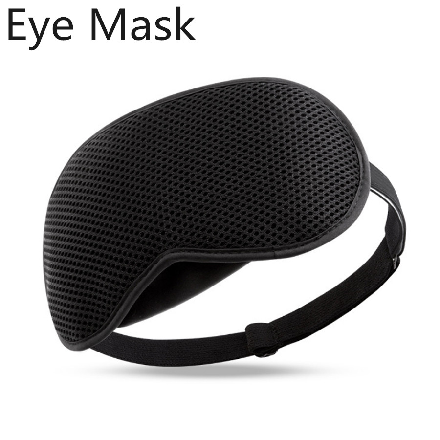Newest Sleep Eye Mask For Travel Rest Length Adjustable Sleeping Aid Blindfold Bandage Eyepatches Personal Health Care