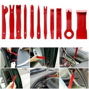 Image 5 - 4 sztuk 7 sztuk 28 sztuk twardego plastiku Radio samochodowe do paneli wewnętrznych zacisk do drzwi wykończenie panelu Dashboard usuwanie zestaw DIY zestaw narzędzi do naprawy samochodu
