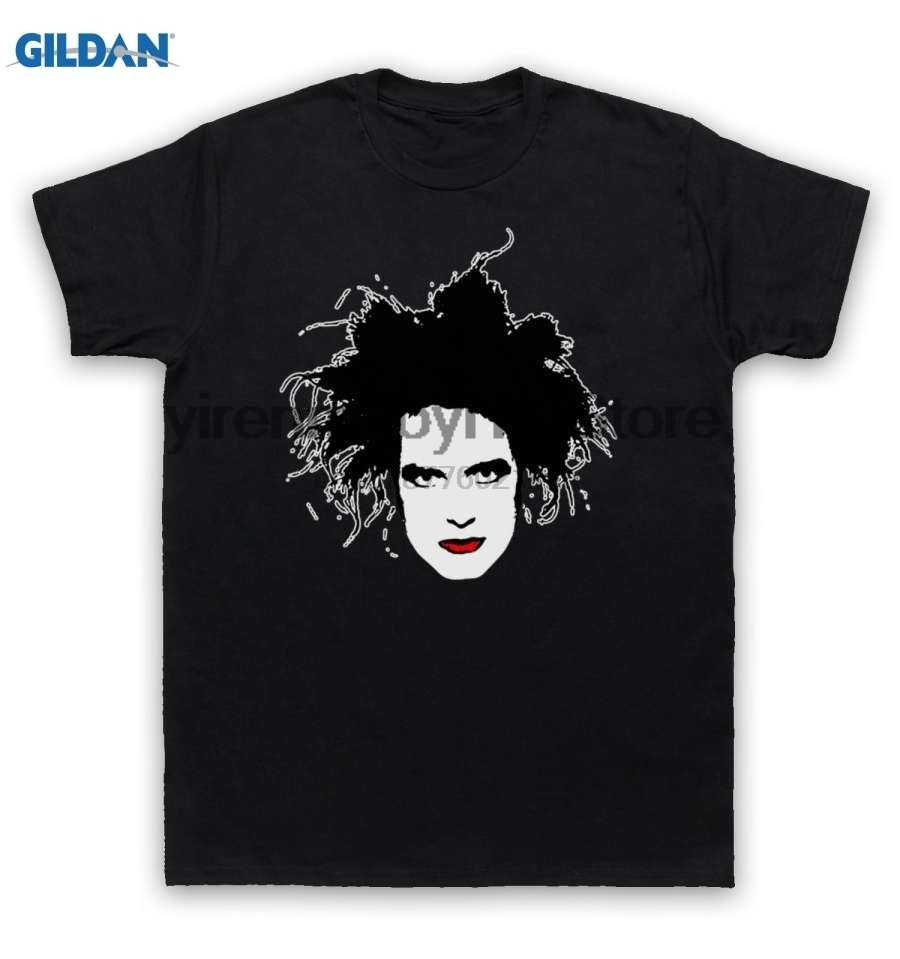 100% cotton O-neck printed T-shirt Cure T Shirt Robert Smith