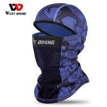 West biking inverno verão esporte cachecol quente à prova de vento rosto capa das mulheres dos homens bicicleta bandana ciclismo ao ar livre headwear