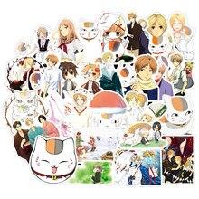 Autocollants dessin animé natsum Yuujinchou, étiquette étanche, pour réfrigérateur, valise, papeterie de développement, décor F3, 50 pièces