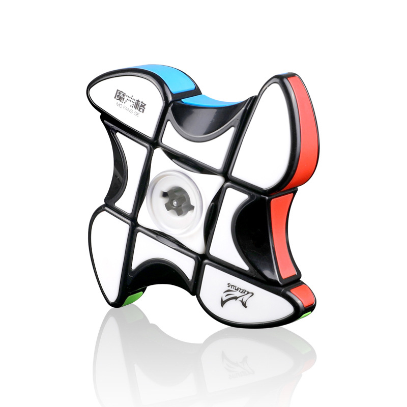 Upgrade 133 Fidget Hand Spinner Puzzle relieves stress Fingers Focus MoFangGe 133 Cube Spinner Floopy Stickers Kids toys