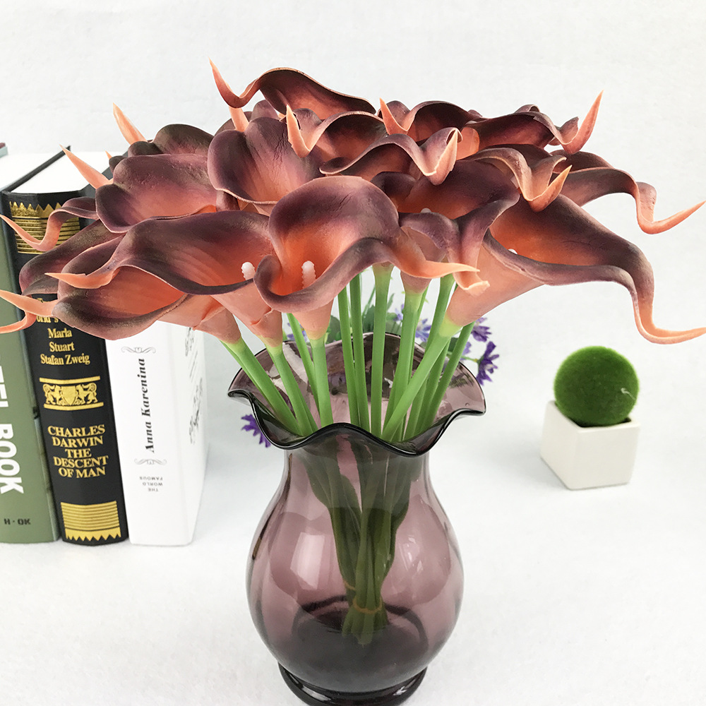 Calla Lily Photography-Props Artificial-Flower Birthday-Party Banquet Wedding Home-Decoration