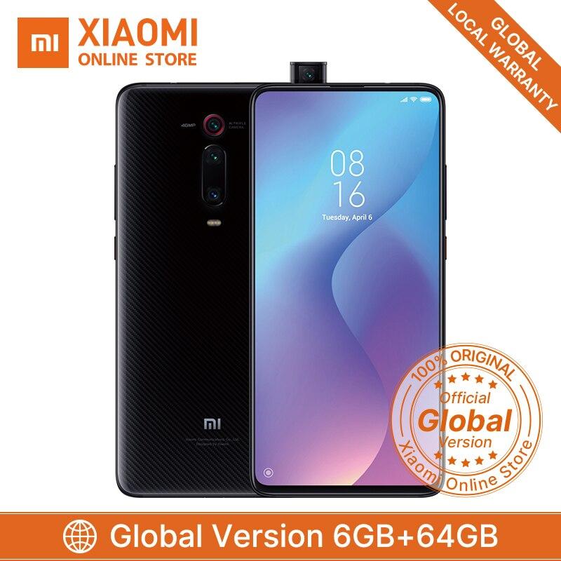 Global Version Xiaomi Mi 9T Snapdragon 730 Redmi K20 6GB 64GB Smartphone 48MP AI Rear Triple Camera Pop-up Front Camera 4000 MAh