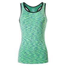 Jeansian Womens Quick Drying Slim Fit Tank Tops Tanktops Sleeveless Vest Singlet SWT241 Green