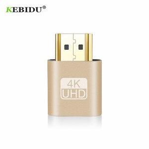 Image 3 - Kebidu 2018 HOT SALE VGA Virtual Plug HDMI Dummy Adapter Virtual Display Emulator Adapter DDC Edid Support 1920x1080P For Video