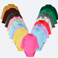 Baby rompers Winter Spring Newborn Baby Clothes unisex Long Sleeve Kids Boys Jumpsuit Baby Girls Outfits Clothes Dropshipping(China)
