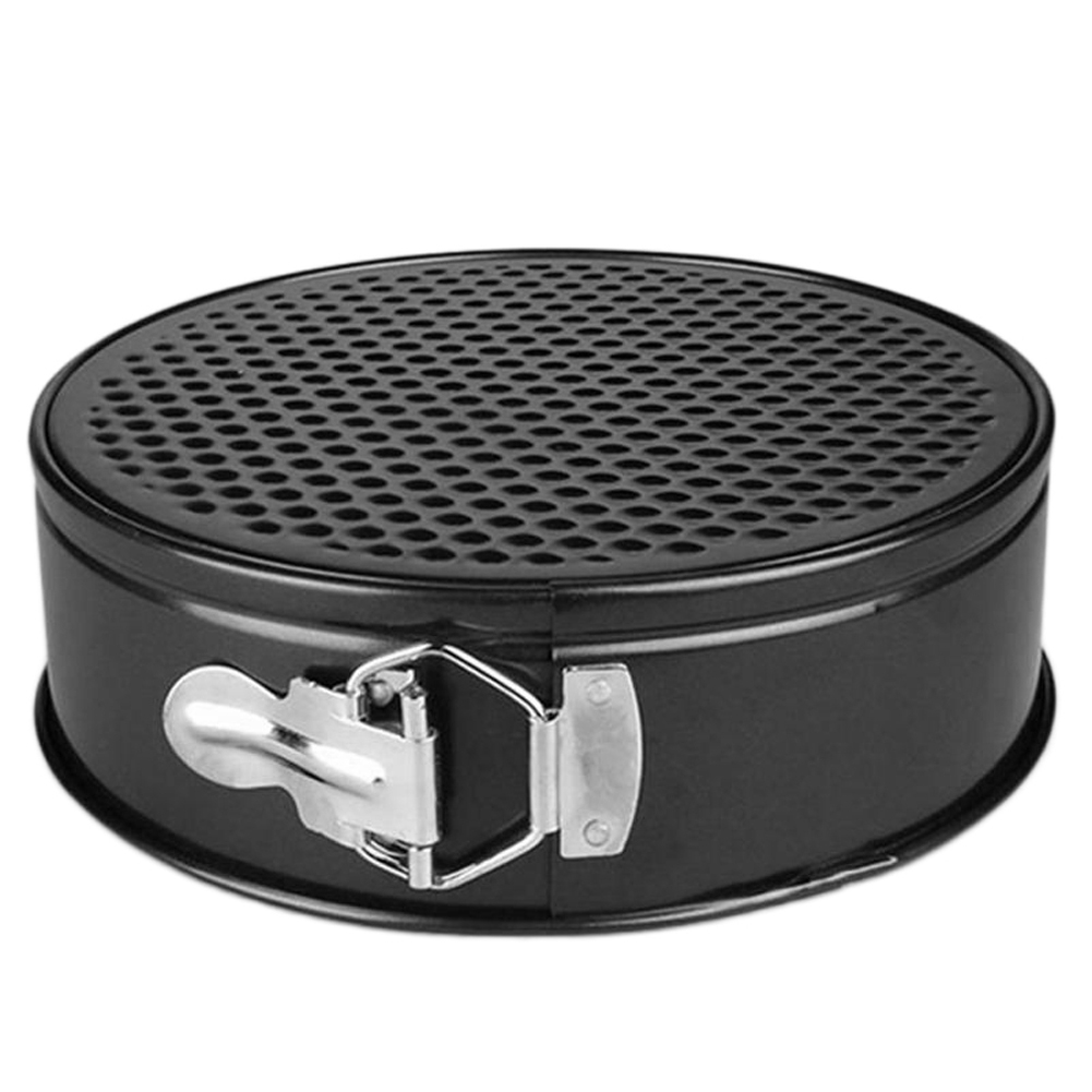 18 20 22 24cm Metal Bakeware Baking Pans Cakes Molds Non Stick Bake Mould Removable Bottom Bakeware Cake Supplies Round Cake Pan in Cake Molds from Home Garden