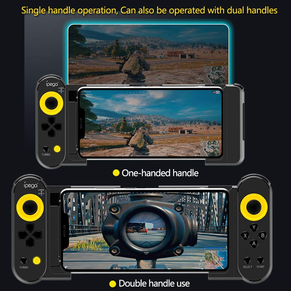 iPEGA PG-9167 Wireless Bluetooth Game Controller Joystick Mobile Gamepad for PUBG Mobile Arena of Valor Knives Out Android  iOS