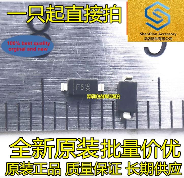 100pcs 100% Orginal New MMSZ5240B 10V Zener Diode SMD123 0.5A 10V Silkscreen F5 Real Photo