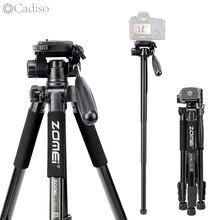 Cadiso Q222 Video Chuyên Nghiệp Ảnh Chân Máy Ảnh Linh Hoạt Chụp Ảnh Du Lịch Du Lịch Đứng với Monopod cho MÁY ẢNH DSLR Camera Điện Thoại