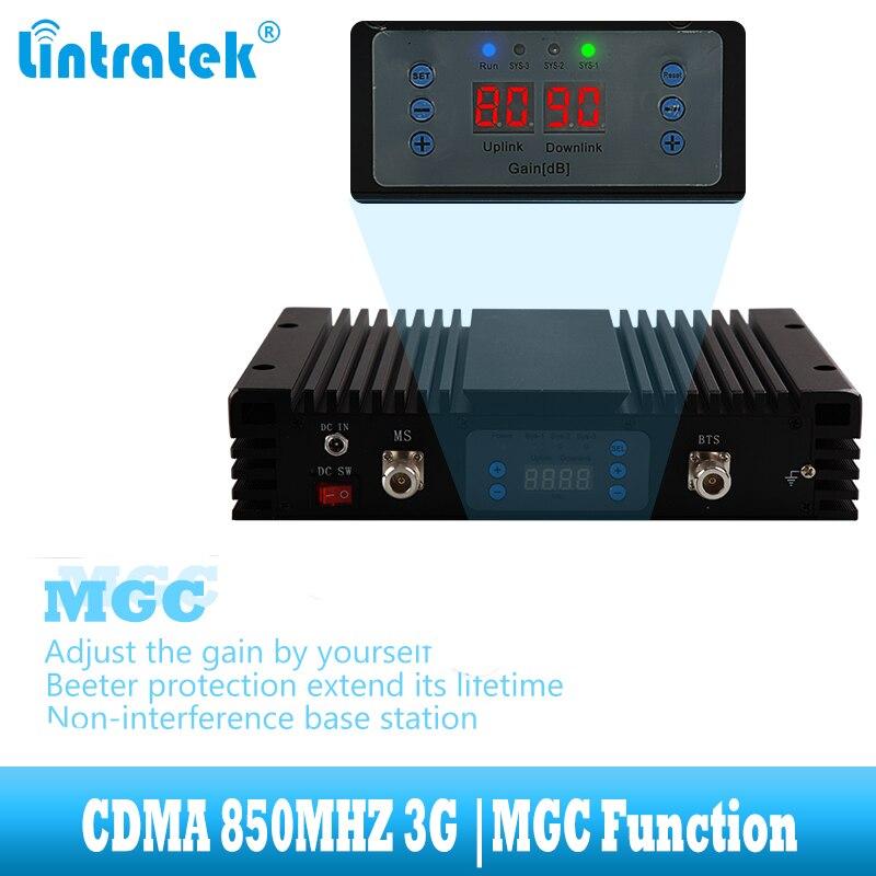 lintratek Supper Power CDMA 3G UMTS 850 mhz Signal Booster GSM 850mhz - Reservdelar och tillbehör för mobiltelefoner - Foto 3