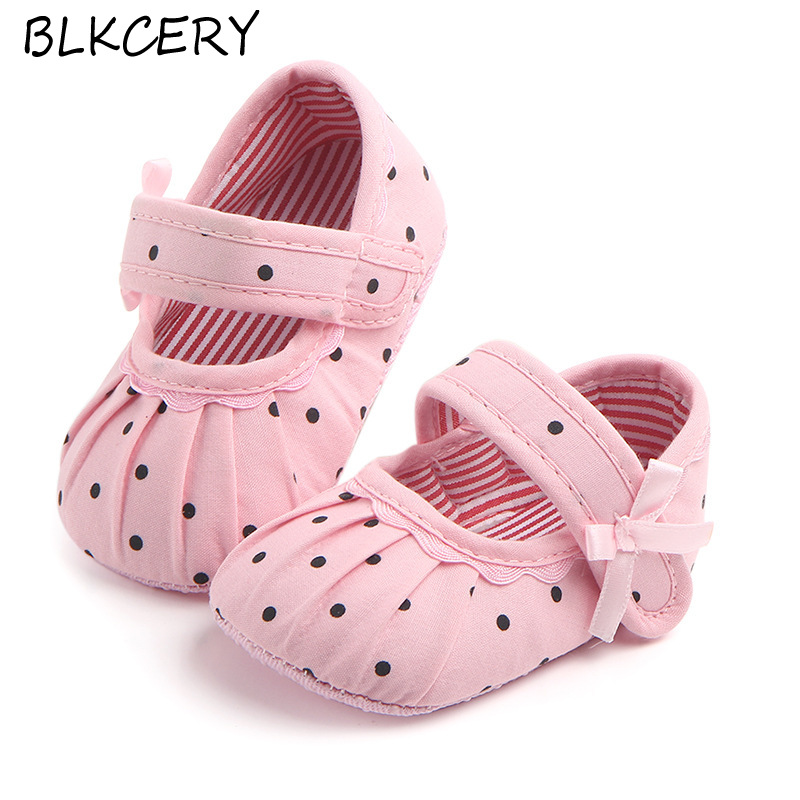 New Baby Girls Crib Shoes Newborn First Steps Toddler Princess Bows Loafers Infant Tenis for 1 Year Old Footwear Doll Shoe Gifts