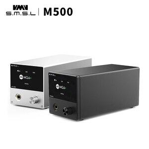 Image 2 - Smsl M500 mqaヘッドフォンアンプmqa xmos XU 216 ES9038PROデコーダ高解像度オーディオデコーダusb dac