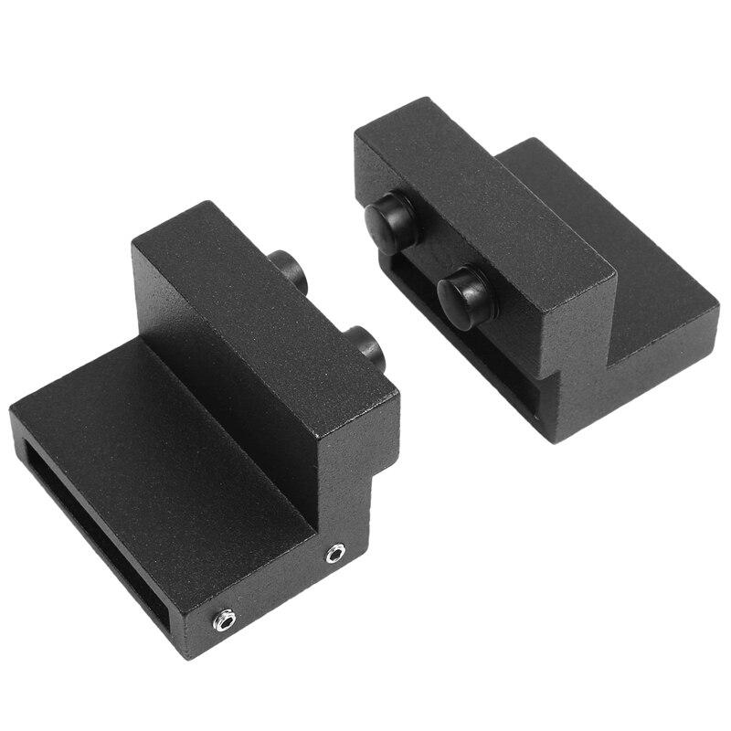 2Pcs Barn Door Stopper Limit Device For Adjustable Floor Track Track Sliding Door