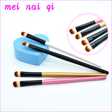 1 pcs Professional Eyeshadow Brushes Makeup Tools Soft Synthetic Hair Brush Wood Handle