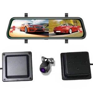 Автомобильный видеорегистратор, камера заднего вида, видеорегистратор, зеркало заднего вида, потоковая сигнализация вождения, детектор сл...