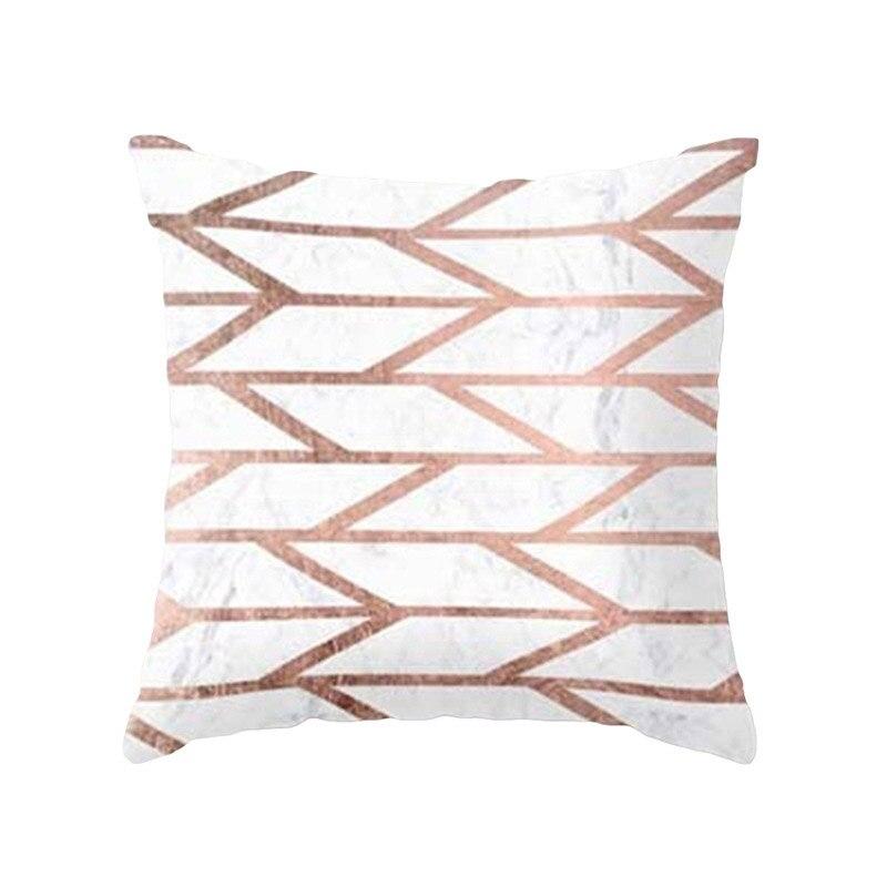H79f80c99011247d8a243c813972491een New 1PC Popular Cushion Case Geometric Tropic Pineapple Nordic Sofa Pink Pillow Decorative