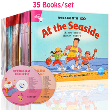 35 Pcs/set 185x140mm Picture English Books For Children And Baby Famous Story English Tales Series Of Child Book At the Seaside 20books set 15x15cm kids usborne picture books children baby famous story english child book farmyard tales story eary education