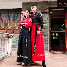 Tang dinastia trajes antigos hanfu vestido folclórica chinesa roupas de dança clássico roupas espadachim tradicional fada cosplay
