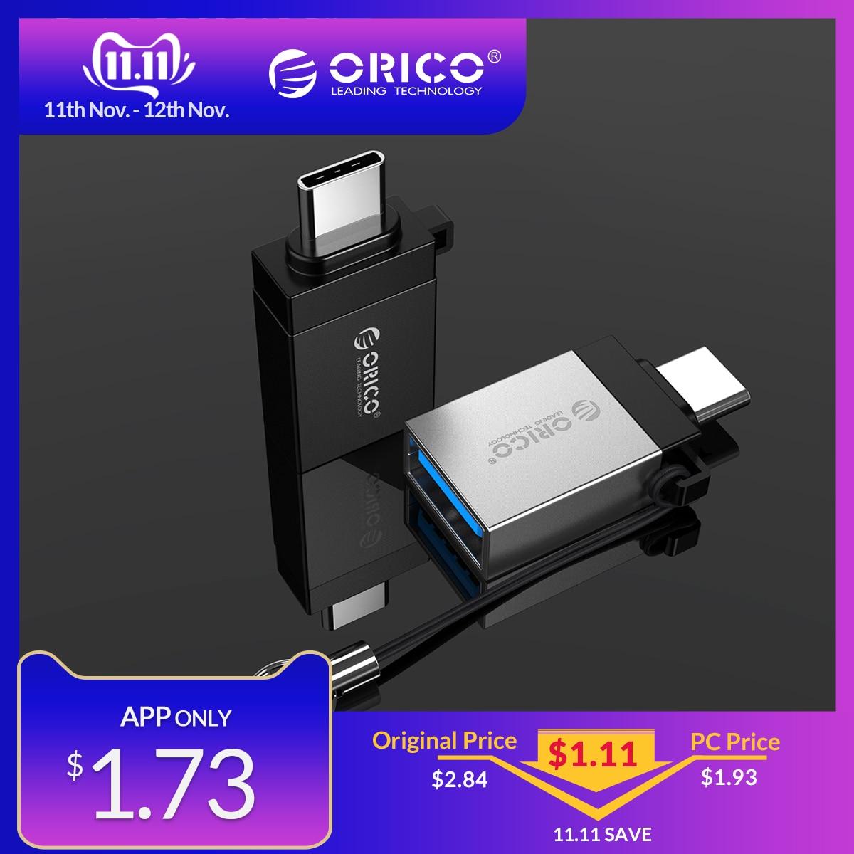 ORICO OTG USB 3.0 To Type C Micro B USB Type-C OTG Adapter Converter For Huawei Samsung Macbook OPPO Adapter
