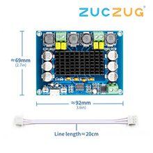 Tpa3116d2 듀얼 채널 스테레오 고전력 디지털 오디오 전력 증폭기 보드 2*120 w XH M543