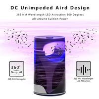 USB Electric Mosquito Killer lamp anti mosquito Trap LED Night Light Lamp Bug insect killer Lights Pest Repeller PLD