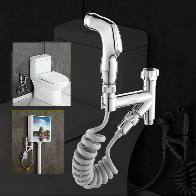 Woman Bidets & Bidet Parts Toilet Partner Spray  Buttock Washing Tool Sprinkler Squat Pit Tank Pressurized Cleaning Sprayers