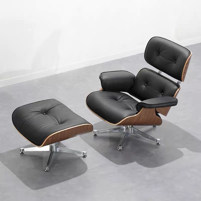 eames lounge chair with ottoman 1