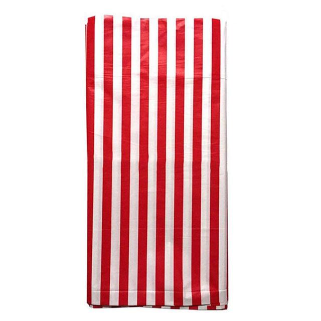 Striped Plastic Tablecloth