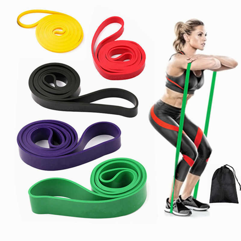 Workout Fitness Equipment Resistance Bands Elastic Band Hip Exercise Training