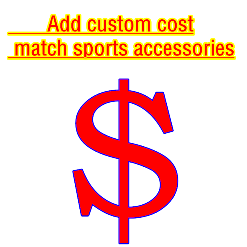 Custom Uniforms Printed Name Number Add Team LOGO Sponsor Advertising Socks Captain Armband Leg Shield Fan Accessories