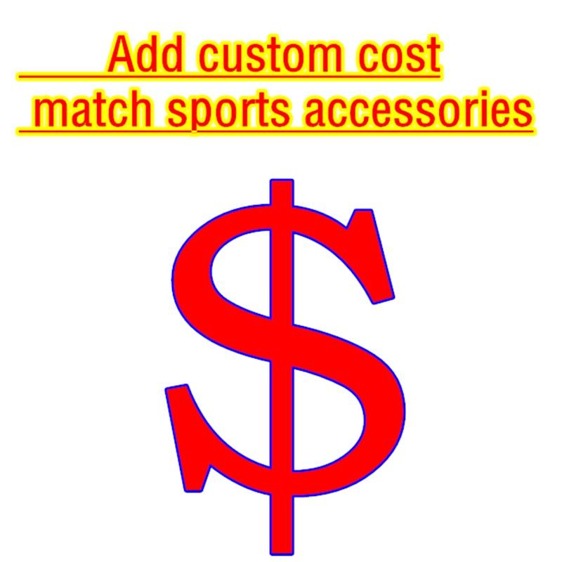 Custom Uniforms Printed Name Number Add Team LOGO Sponsor Advertising Socks Captain Armband Leg Shield Fan Accessories