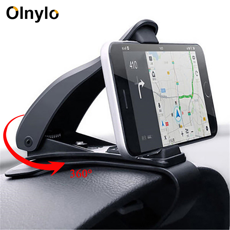 Car Phone Mobile Holder Dashboard Bracket for iPhone 11 Pro XR Huawei Universal 360 Mount Stand Holder for Cell Phone in Car GPS|Phone Holders & Stands|   - AliExpress