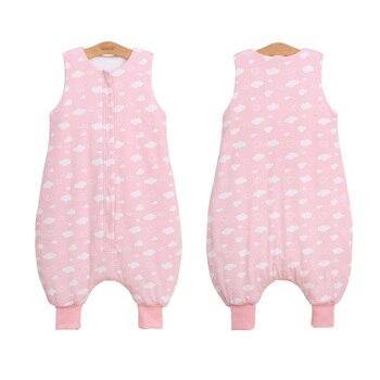 Bolsa De Dormir original De muselina De algodón Para bebés, bolsa De...