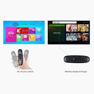 Image 5 - BYINTEK ratón inalámbrico air, teclado para juegos recargable, 2,4 GHz, mando a distancia inteligente Universal para Android, proyector y Pc