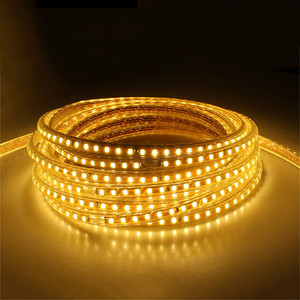 Image 2 - 220V Waterproof Led strip light with EU Plug 2835 SMD flexible Rope Light,120 Leds/M high brightness outdoor indoor Dimmer decor