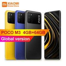 POCO-teléfono inteligente M3 versión Global, 4GB de RAM, 64GB de ROM, Snapdragon 662G, cámara de 48MP, 6000mAh, pantalla de 6,53 pulgadas