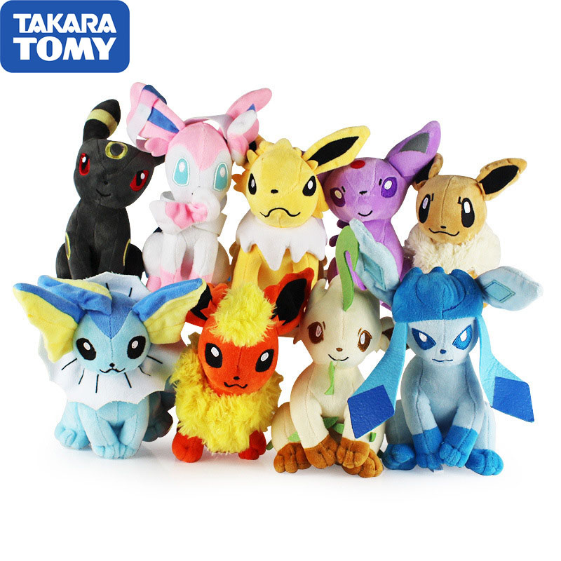Takara Tomy High Quality Peluche Jigglypuff Charmander Gengar Bulbasaur Squirtle  Pokemon Plush Toys For Children Activity Gift