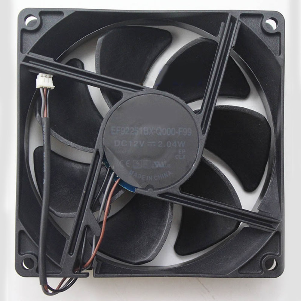 Cooling Fan EF92251BX-Q000-F99 For SUNON 92*92*25mm 12V 2.04W 3pin Projector Cooler