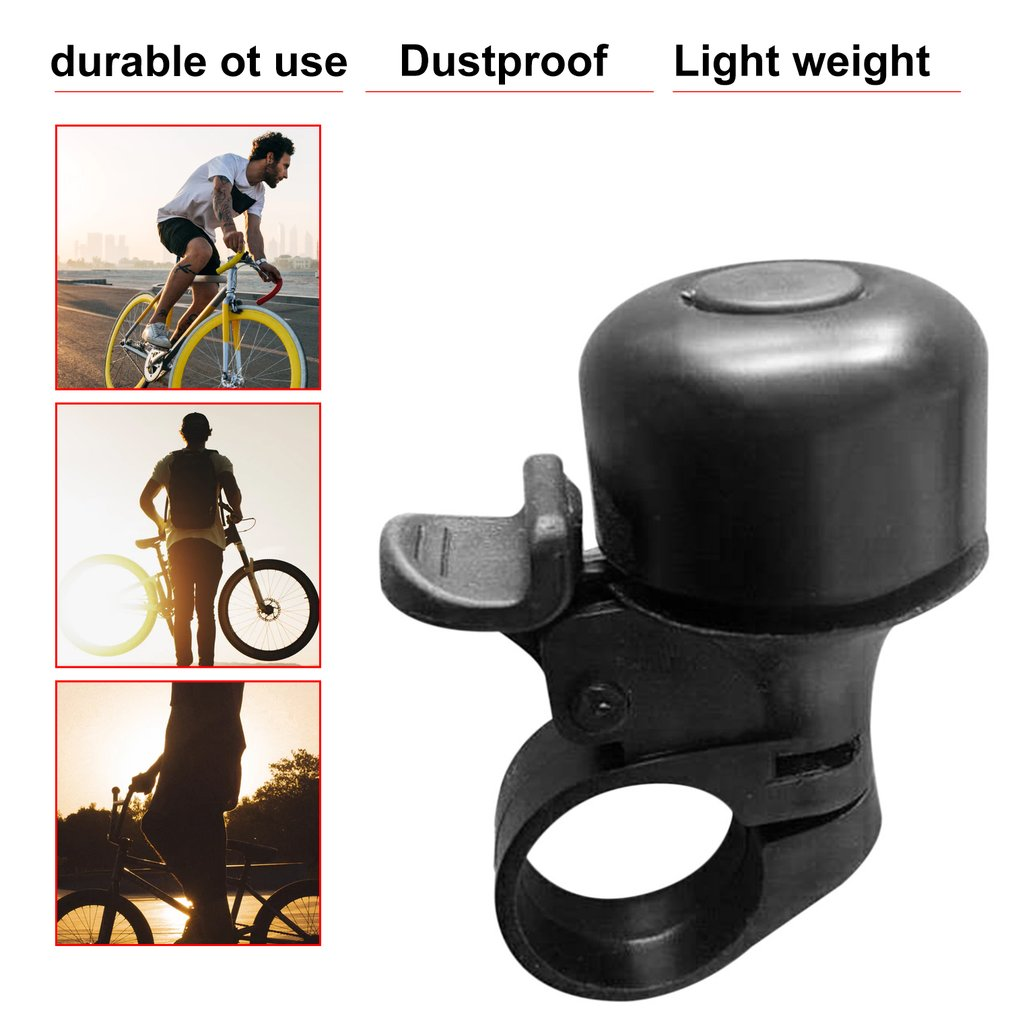Metal /& Plastic Ring Handlebar Bell Sound for Bike Bicycle Cycling Alarm Safety