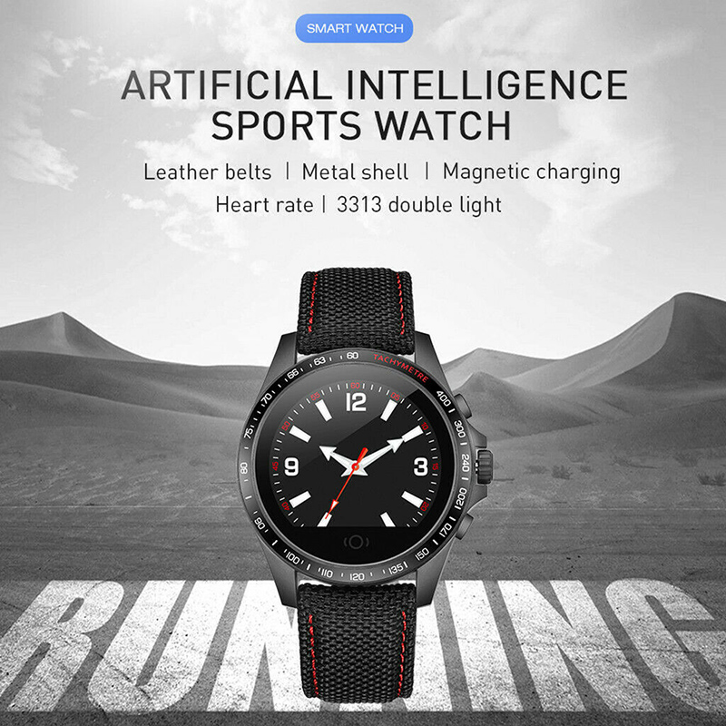 New Smart Watch Sports Fitness Heart Rate Blood Pressure Calories Tracking Wristband DOM668