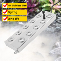 Hohe Effizienz Ultraschall Zerstäuber Wasser Nebel Diffusor Industrielle Garten Landschaft Bühne Nebel Maker 5-7 kg/std Luftbefeuchter